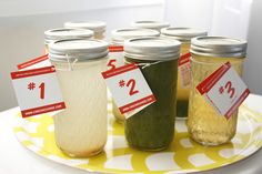 juice cleanse in mason jars via can can cleanse