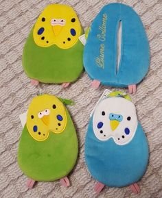☆★☆pocket tissue case Clay Classes, Peace Pole, Parrot Pet, Artist Alley, Parakeets, Bird Cages, Retro Pattern, Rock Crafts, Kids Bags