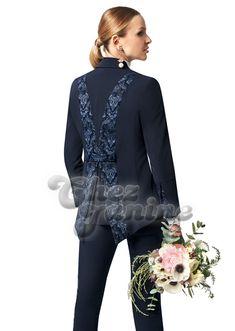 Boutique Chez Janine – Brautmode, Brautkleider und Festmode für Sie und Ihn - Hosen Outfit, Bomber Jacket, Blouse, Long Sleeve, Sleeves, Jackets, Romance, Boutique, Tops
