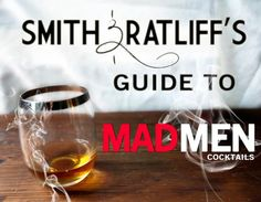 Smith & Ratliff's Guide to Mad Men Cocktails Brandy Alexander, Mad Men Party, Mad Women, Mad Men Fashion, Hooch, Retro Party, Cocktail Recipes, Drink Recipes, Yummy Drinks