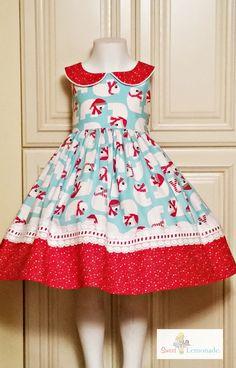 www.sweetlemonade.etsy.com Little Girl Dresses, Little Girls, Girls Dresses, Summer Dresses, Christmas Sewing, Babies Clothes, Big Kids, Frocks, Lemonade