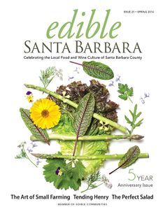 Edible Communities Cover Contest: Click the link to vote by sharing the Edible Santa Barbara Spring Cover!
