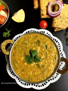Looking for an easy and quick dal curry? This Indian spiced mixed lentils methi dal fry with fresh fenugreek leaves sounds like a perfect contender! Methi Recipes, Dal Fry, Radish Greens, Indian Flat Bread, Dried Mangoes, Chaat Masala, Green Lentils, Coriander Powder, Indian Street Food