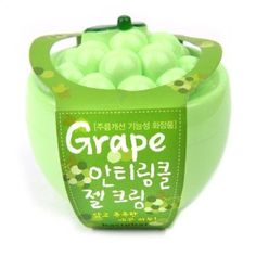 Baviphat Grape Anti-Wrinkle Gel Cream  #emballage #souple #flexible #packaging #unique #amazing