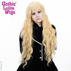 Gothic Lolita Wigs® Classic Wavy Lolita™ Collection - Tokyo Blonde   $51