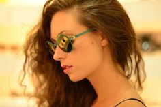 MYKITA / Modello Carlett (acciaio round green color)
