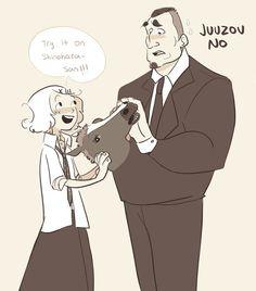 Shinohara and Juuzou and the horse face ;)