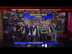Funniest thing I've seen in a LONG Time!! Backstreet Boys sing the Top 10 List on the Late Show with David Letterman