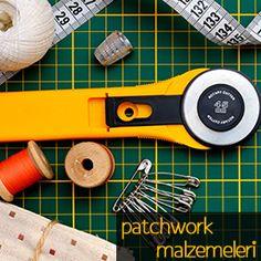 patchwork malzemeleri, kırkyama kumaşları, cetveller, iplikler..www.goblen.com