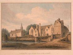 Tudor Era, National Trust, Cousins, David, Homes, Watercolor, Places, Life, Painting