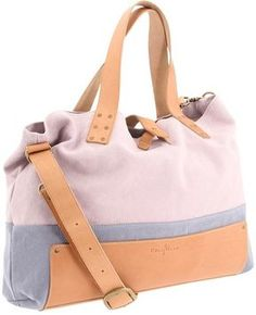 53e682253 Cole Haan Kittery Point Casual Utility Tote (Opal Grey/Burnt Orange Canvas)  - Bags and Luggage - ShopStyle