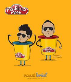 Lunes de antojitos Musicales.  Por: RoastBrief.com  #RockMexicano #Rock #Music #LoveMusic #PlastilinaMosh