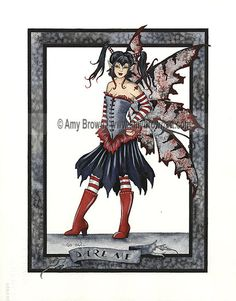 ORIGINAL ART - SALE Paintings - Amy Brown Fairy Art - The Official Gallery