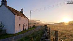 A Tranquil Rural Scottish Farmhouse