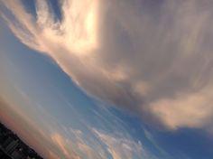 Uma nuvem que passa.