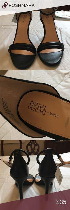 New with Tags Black Stappy Heels- Pranav Gurung Beautiful 4 inch heels Prabal Gurung for Target Shoes Heels