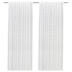 IKEA - FLÖNG, Curtains, 1 pair, , The curtains let the light through but provide…
