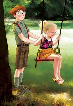 The Children of Fairy Oak | #ElisabettaGnone #libri #books #romanzo #novel #art #drawing #picture #sketch #draw #artist #illustration #pencil #reading #fable #fiaba