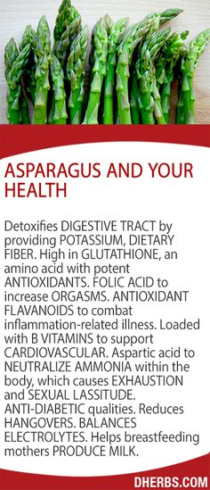 Asparagus and Your Health