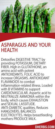 Asparagus and Your Health
