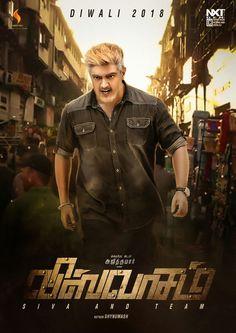 Terrific fan made poster of #Viswasam bringing in the much talked about brown/black colored hair style of Thala Ajith. #Tamilmovieupdates #Movieupdatenews #UpcomingTamilmovie #Thala58