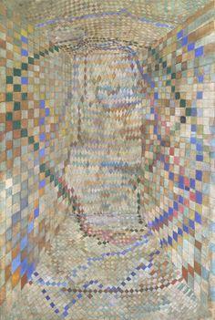 Maria Helena Vieira da Silva , The Tiled Room, 1935, 604 x 913 mm