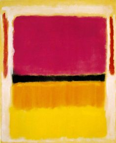 Violet, Black, Orange, Yellow on White and Red, 1949 by Mark Rothko