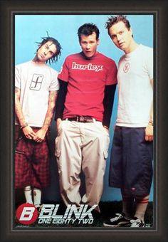 ---- love this poster Pop Punk Bands, Emo Bands, Music Bands, Rock Bands, Blink 182 Poster, Love My Boys, My Love, Tom Delonge, Nu Metal