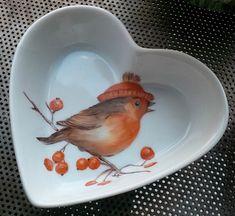 VIVE LE PRINTEMPS , peinture sur porcelaine