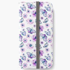 Iphone Wallet, Iphone 6, Iphone Cases, Butterflies Flying, Purple Butterfly, 6s Plus, Gift Ideas, Printed, Awesome