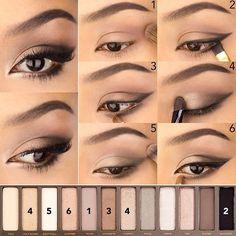 Подчеркнуть форму глаз, сделать взгляд более выразительным и привлекательным – все это легко сделать с помощью современного макияжа. Используем новые трендовые цвета в макияже и приемы, которые помогут добиться нужного эффекта. Смотрите простые и наглядные уроки макияжа по шагам: 1. Классика в…