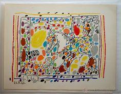 Litografía original de Pablo Ruiz Picasso - Picador II, 6-3 y 21-4 1961 / Arte en todocoleccion