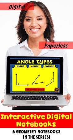 Go paperless with this digital resource for geometry for Google Drive®️️️. The Google Slides cover the three types of angles:  right angles, acute angels and obtuse angles. Students practice drawing these types of lines as well as solving problems involving these plane figures. Includes answer key and scoring guide. Come check out the PREVIEW!