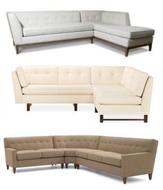 Mid Century Style Sectional Sofas (Apartment Therapy)