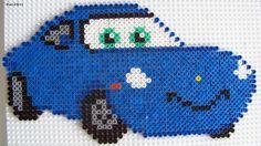 Coffret Hama &Cars Flash McQueen et Sally& Sally : il vous faut 2 grandes plaques carrée Flash McQueen : il vous faut 4 grandes plaques carrée