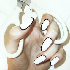 White with black border   necolebitchie.com