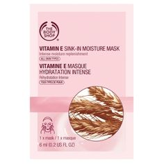The Body Shop - Vitamin E Sink-In Moisture Mask, 1,50€