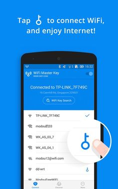 DETAIL With a hundreds of millions of free Wi-Fi hotspots shared by our users globally, you can connect to free Wi-Fi with WiFi Mas. Piratear Wifi, Find Wifi Password, Wifi Key, Wifi Code, Hack Password, Smartphone Hacks, Iphone Hacks, Iphone Secret Codes, Simple Electronic Circuits