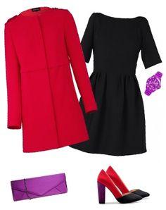la robe noire ose le color block
