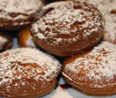 Gluten Free Paczki- next time it is Paczki day I am going to make these. Wonder how they will work with no dairy or eggs...
