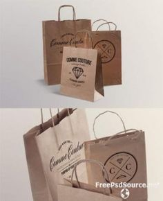 Paper Bags Mockup Templates 2 » Graphicriver free . Free Download Psd Source , Tutorials , Vecto ...