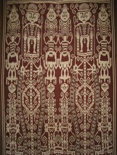 2 Sarawak Kapit Rajang PUA Ikat Kebat Dayaks Borneo | eBay Indonesian Art, Sarongs, Pua, Borneo, Tribal Art, Textures Patterns, Table Runners, Cloths, Weave