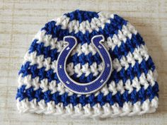 INDIANAPOLIS COLTS Newborn Baby Hat