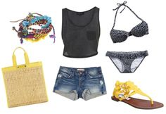 how to wear a crop top! this website is amazing for college fashion