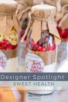 Kelly from Sweet Health creates easy, fun-to-bake cookie mixes packaged in adorable vintage milk bottles as unique gifts and bespoke favours for every occasion Aussie Christmas, Australian Christmas, Jar Gifts, Food Gifts, Cookie Mixes, Vintage Milk Bottles, Australian Food, No Bake Cookies, Favours