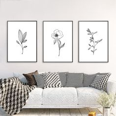 Minimalist Decor Minimal Wall Art Pencil Leaf Drawings Canvas Painting Contour Botanical Prints Black White Wall Picture Poster cm No Frame Canvas Wall Decor, Home Decor Wall Art, Canvas Art Prints, Unique Wall Art, Vintage Wall Art, Modern Wall, Leaf Wall Art, Abstract Wall Art, Leaf Drawing