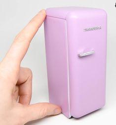 Miniature fridge #miniaturefurniture