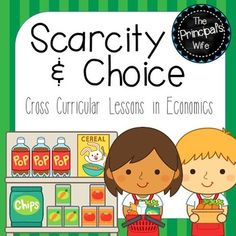 These scarcity and choice activities were designed as a cross curricular economics unit.  They will help your students learn what scarcity is, how it is caused, and how they can help make better choices to limit its effects.  Social Studies, reading, and writing lessons are all included in this unit.This product is part of my Economics Bundle.