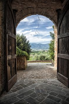 Montecarlo, Tuscany, Italy *  www.liberatingdivineconsciousness.com