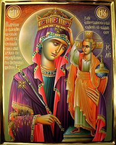 Blessed Mary and Jesus Child archives. Byzantine Icons, Byzantine Art, Religious Icons, Religious Art, Famous Freemasons, Hail Holy Queen, Images Of Mary, Queen Of Heaven, Mama Mary